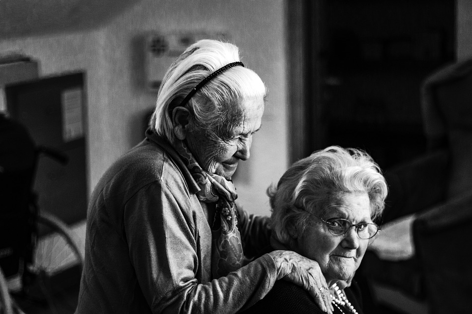 Women, Woman, Seniors, Senior Women, Care, Human